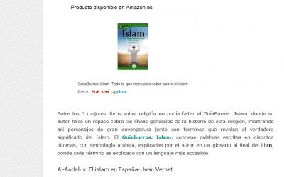 El GuíaBurros: Islam, de Andrés Guijarro, considerado como uno de los mejores libros de religión